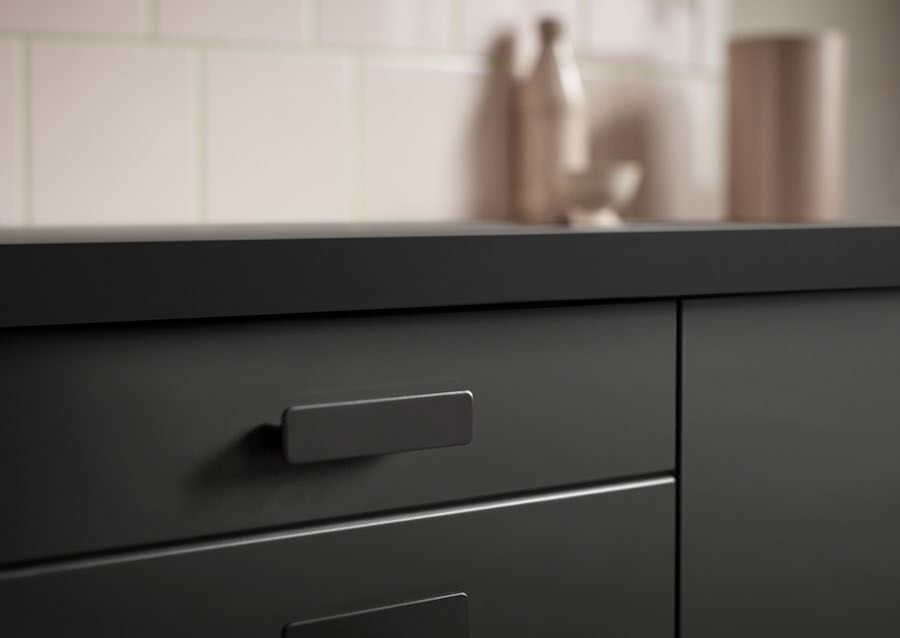 Preciously Me blog : Ikea 2017 New Collection. Kungsbacka matte black kitchen made from recycled bottles